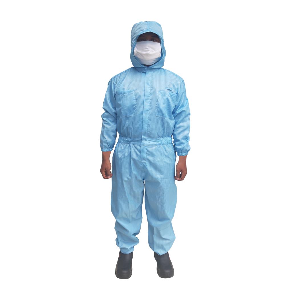 Hygienic Industrial Uniform Antistatic